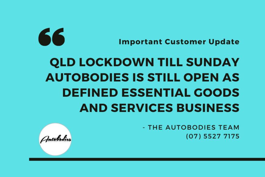 Customer Update Autobodies Gold Coast Corona Virus Information 2nd August 2021